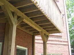 cantilevered deck deck question internachi inspection forum