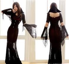 Prom Queen Halloween Costumes Prom Queen Dress Uniform Dress Black Vampire Halloween