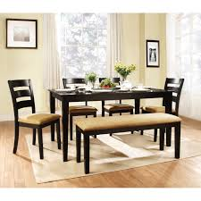nice rustic corner dining room tables and benches in square dolce