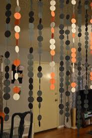 halloween decor paper garland curtain revamperate