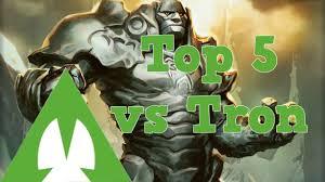 Mtg Sideboard Mtg Top 5 Sideboard Cards Vs Tron Youtube