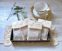 tea wedding favors tea sler handmade individual tea bags 6 12 18 or 24