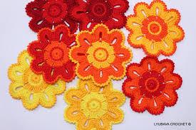 crochet coaster pattern crochet home decor pattern crochet
