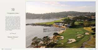 the ultimate round pebble beach golf links an illustrated guide