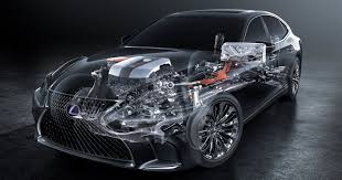 lexus ls features lexus ls 500h to feature multi stage hybrid system
