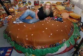 this man hoards hamburger memorabilia and it makes us look sane