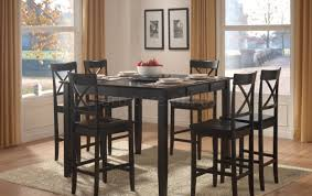 Dining Room Chair Height Black Dining Room Table Set Home Design Ideas And Pictures