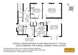 2 bed maisonette for sale in south gardens the avenue wembley
