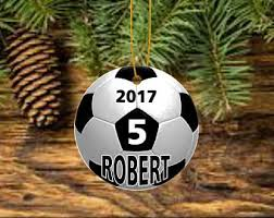 Soccer Ornaments To Personalize Coach Ornament Etsy
