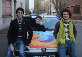 Avec Mozilla au festival des vieilles charrues Lagon Libre