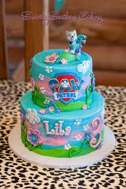 paw patrol cake everest cake sweetly southern cakes 2016
