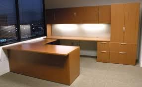 Knoll Office Desk Used Knoll Reff Executive U Shape In Cherry Veneer U2013 Dallas Texas