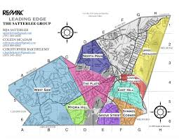 Ma Map Winchester Neighborhoods Map