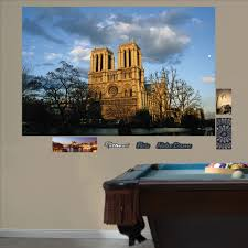 Paris Wall Murals 28 Notre Dame Wall Mural Wall Mural Notre Dame In The