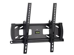 Wall Mount For 48 Inch Tv Tilting Wall Mount Bracket With Security Bracket For 32 55 Inch