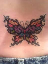 48 best colorful lower back tattoos images on pinterest body