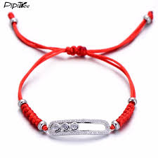 snake knot bracelet images Pipitree luxury snake knot red string braiding bracelet handmade jpg
