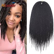 crochet hair extensions aliexpress buy box braids hair 3x crochet hair extensions 12