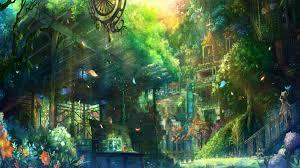 anime city wallpaper 1920x1080 6645