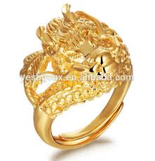 dragon engagement rings images Dragon engagement ring gold plated ring for men buy gold ring jpg