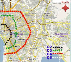 Metro Manila Map by Metro Manila Skyway Page 361 Skyscrapercity