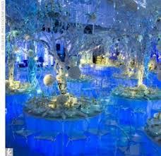 Winter Wonderland Centerpieces Mitzvah Inspire Winter Wonderland Winter Wonderland Theme