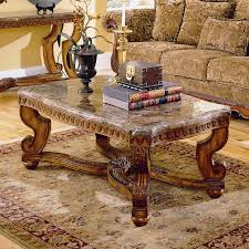 shop homelegance tarantula granite marble coffee table at lowes com