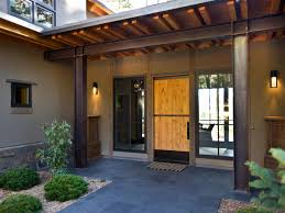 exterior charming contemporary front porch decoration using