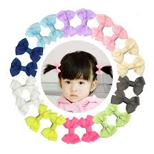 toddler hair accessories shemay hair accessories shemay 2 tiny solid hair bow clip