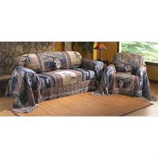 Sofa Throw Slipcovers by Whitetail Deer Collage Furniture Throw 135141 Furniture Covers