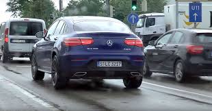 first street sighting of the 2017 mercedes benz glc coupe
