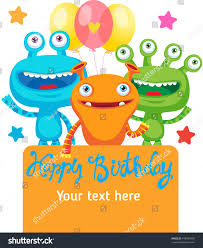 many stock birthday party invitation card vector creation party invitation card design place stock vector 478083409