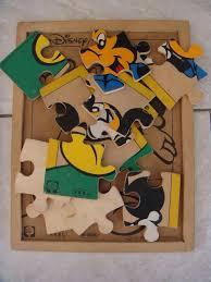 Puzzle Len Cart With Wheels 3 Wooden Puzzles Puzzle Len