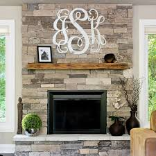 Monogram Letters Home Decor Unfinished Wooden 3 Alphabet Letter Vine Monogram Wall Decor