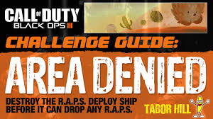 Challenge How To Do It How To Do The Area Denied Scorestreak Return Challenge How