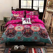 Purple Paisley Comforter Boho Duvet Covers Queen Paisley Bedding Purple Style Bedding Queen