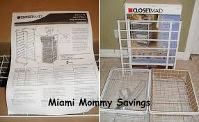 Closetmaid System Closetmaid 4 Drawer Kit Review Cleverly Me South Florida