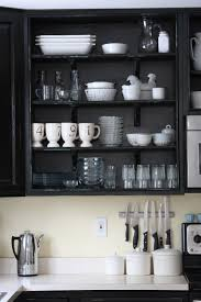 Painted Black Kitchen Cabinets Remodelaholic Black Kitchen Cabinets Guest Project Feature