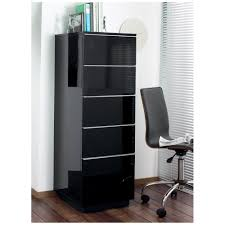 File Cabinet Seat Madison Tall Office Cabinet Black Dwell