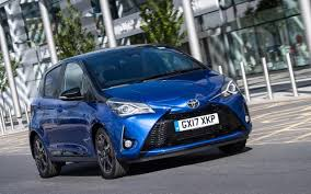 funny small cars toyota yaris review improved for 2017 but can it match rivals