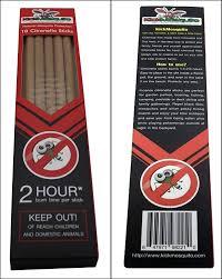 amazon com kick mosquito repellent sticks incense citronella