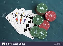 cards on the table holdem stock photos holdem stock images alamy
