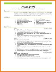 24 cover letter template for resume objective restaurant