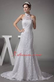 wedding dress mermaid mermaid halter top lace court wedding dress 224 57