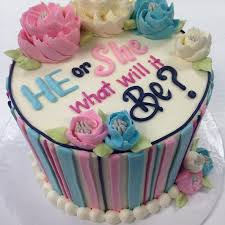 43 best baby shower gender reveal cakes images on pinterest baby