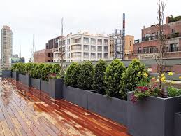 roof garden plants ues rooftop terrace roof garden deck container plants pots