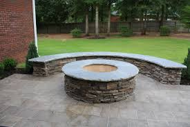 Outdoor Firepit Kit Woodburning Firepit Kit Patio Atlanta By My Outdoor Rooms