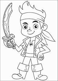 free jake neverland pirates coloring pages print kids
