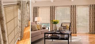 Curtain With Blinds Custom Fabric Blinds Graber I Denver