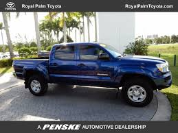 used toyota tacoma at royal palm toyota serving wellington royal